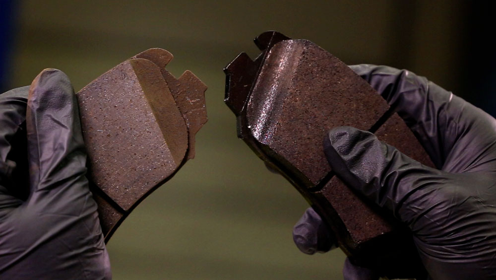 brake pads, uneven brake pad wear