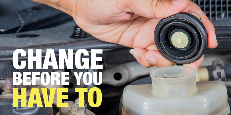 your brakes, changing brake fluid