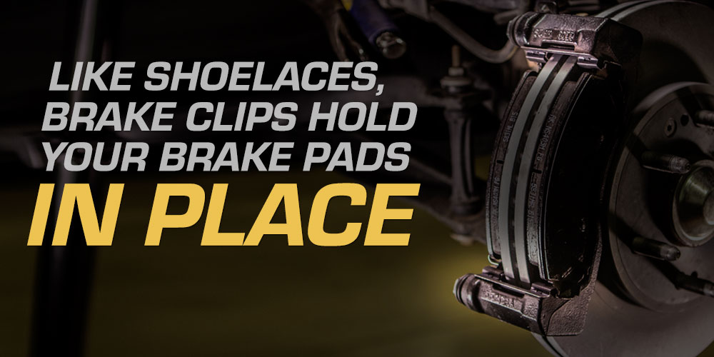 two brake clips, your brakes