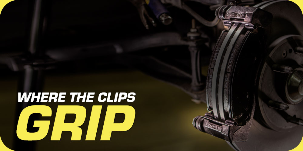 where brake pad clips grip, Your Brakes
